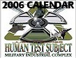 Human Test Subject Calendar
